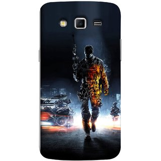 FUSON Designer Back Case Cover for Samsung Galaxy Grand 2 :: Samsung Galaxy Grand 2 G7105 :: Samsung Galaxy Grand 2 G7102 :: Samsung  Galaxy Grand Ii (Army War Secret Missions Country Saver Fighter )