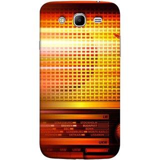 FUSON Designer Back Case Cover for Samsung Galaxy Mega 5.8 I9150 :: Samsung Galaxy Mega Duos 5.8 I9152 (Blur Music Background With Retro Radio Antique )