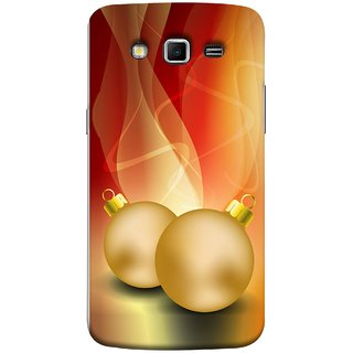 FUSON Designer Back Case Cover for Samsung Galaxy Grand 2 :: Samsung Galaxy Grand 2 G7105 :: Samsung Galaxy Grand 2 G7102 :: Samsung  Galaxy Grand Ii (Holidays Party Arrange Yellow Red Pink Back Smokes)