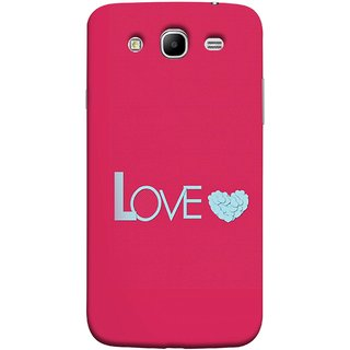FUSON Designer Back Case Cover for Samsung Galaxy Mega 5.8 I9150 :: Samsung Galaxy Mega Duos 5.8 I9152 (Best Gift For Valentine Friends Lovers Couples Baby Pink Red )