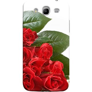 FUSON Designer Back Case Cover for Samsung Galaxy Mega 5.8 I9150 :: Samsung Galaxy Mega Duos 5.8 I9152 (Close Up Red Roses Chocolate Hearts For Valentines Day)