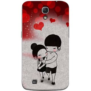 FUSON Designer Back Case Cover for Samsung Galaxy Mega 6.3 I9200 :: Samsung Galaxy Mega 6.3 Sgh-I527 (Couple Enjoying Beautiful Lovers Red Hearts)