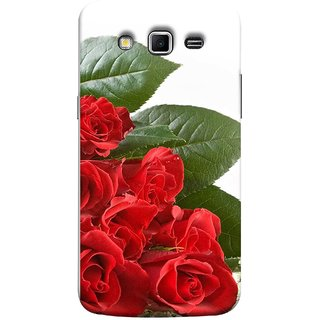 FUSON Designer Back Case Cover for Samsung Galaxy Grand 2 :: Samsung Galaxy Grand 2 G7105 :: Samsung Galaxy Grand 2 G7102 :: Samsung  Galaxy Grand Ii (Close Up Red Roses Chocolate Hearts For Valentines Day)