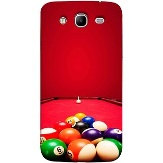 FUSON Designer Back Case Cover for Samsung Galaxy Mega 5.8 I9150 :: Samsung Galaxy Mega Duos 5.8 I9152 (Billards Pool Game Color Balls In Triangle Aiming)