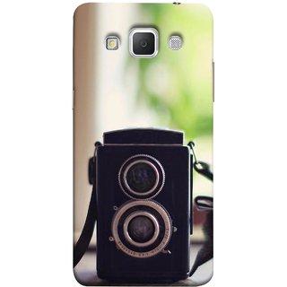 FUSON Designer Back Case Cover for Samsung Galaxy Grand 3 :: Samsung Galaxy Grand Max G720F (Antique & Vintage Cameras Make Great Deco)