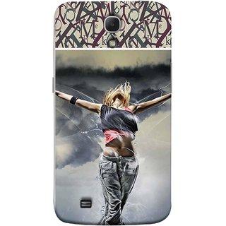 FUSON Designer Back Case Cover for Samsung Galaxy Mega 6.3 I9200 :: Samsung Galaxy Mega 6.3 Sgh-I527 (Beautiful Female Standing Relaxing Enjoying Moment)