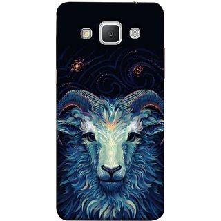 FUSON Designer Back Case Cover for Samsung Galaxy Grand 3 :: Samsung Galaxy Grand Max G720F (Bail Goat Horn Strong Bakara Style Design)