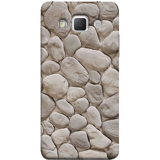 FUSON Designer Back Case Cover for Samsung Galaxy Grand 3 :: Samsung Galaxy Grand Max G720F (Landscape River Old Rock Sizes Irregular Shapes Mat)