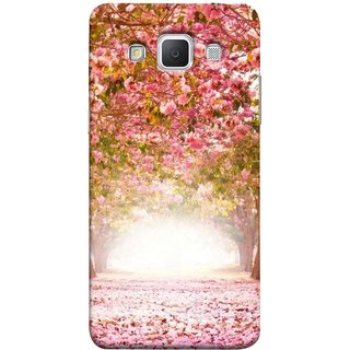 FUSON Designer Back Case Cover for Samsung Galaxy Grand 3 :: Samsung Galaxy Grand Max G720F (Best Road To Walk Flowers Fresh Sunshine Sunny Day )
