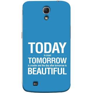 FUSON Designer Back Case Cover for Samsung Galaxy Mega 6.3 I9200 :: Samsung Galaxy Mega 6.3 Sgh-I527 (Day After Tomorrow Is Beautiful Happy Life Enjoy )