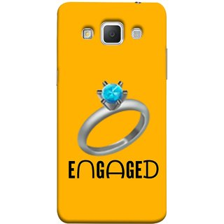 FUSON Designer Back Case Cover for Samsung Galaxy Grand 3 :: Samsung Galaxy Grand Max G720F (Couple Marriage Engegement Ring With Beautiful Diamond)