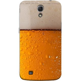 FUSON Designer Back Case Cover for Samsung Galaxy Mega 6.3 I9200 :: Samsung Galaxy Mega 6.3 Sgh-I527 (Cold Chilled Beer Glass Tub Pint Bubbles Full)