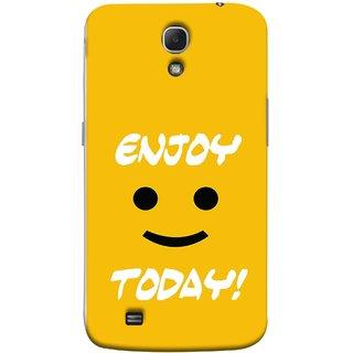FUSON Designer Back Case Cover for Samsung Galaxy Mega 6.3 I9200 :: Samsung Galaxy Mega 6.3 Sgh-I527 (Big Smiley Smiling Positive Wallpaper Back Cover)