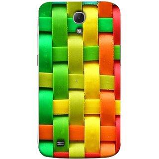 FUSON Designer Back Case Cover for Samsung Galaxy Mega 6.3 I9200 :: Samsung Galaxy Mega 6.3 Sgh-I527 (Bright And Beautiful Colour Strips And Band Wave )