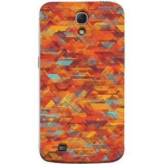 FUSON Designer Back Case Cover for Samsung Galaxy Mega 6.3 I9200 :: Samsung Galaxy Mega 6.3 Sgh-I527 (Geometric Watercolour Art Print Pink Bright)