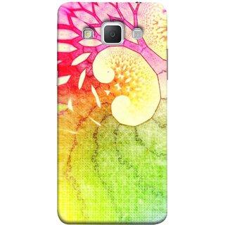 FUSON Designer Back Case Cover for Samsung Galaxy Grand 3 :: Samsung Galaxy Grand Max G720F (Colourful Art Design River Shape Random Perfect)