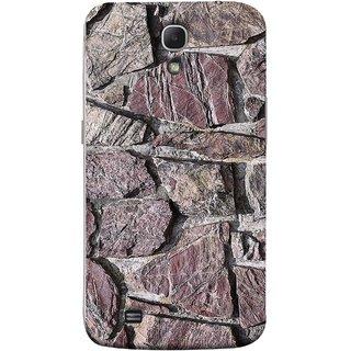 FUSON Designer Back Case Cover for Samsung Galaxy Mega 6.3 I9200 :: Samsung Galaxy Mega 6.3 Sgh-I527 (Sandstone Bricks Of Irregular Shapes Slotting Together )
