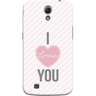 FUSON Designer Back Case Cover for Samsung Galaxy Mega 6.3 I9200 :: Samsung Galaxy Mega 6.3 Sgh-I527 (Just Pinky Say Always I Love You Red Hearts Couples)