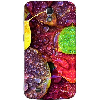 FUSON Designer Back Case Cover for Samsung Galaxy Mega 6.3 I9200 :: Samsung Galaxy Mega 6.3 Sgh-I527 (Big Leaf Leaves Lotus Raindrops Forest Raining Season)