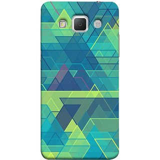 FUSON Designer Back Case Cover for Samsung Galaxy Grand 3 :: Samsung Galaxy Grand Max G720F (Hexagonal Shape Abstract Pattern Geometric Shapes )