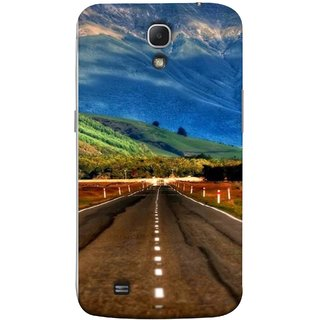 FUSON Designer Back Case Cover for Samsung Galaxy Mega 6.3 I9200 :: Samsung Galaxy Mega 6.3 Sgh-I527 (Scenic Road And Beautiful Mountains Highway Nature)