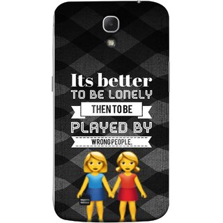 FUSON Designer Back Case Cover for Samsung Galaxy Mega 6.3 I9200 :: Samsung Galaxy Mega 6.3 Sgh-I527 (By Wrong People Couple Friends Boy Girls Standing)