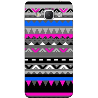 FUSON Designer Back Case Cover for Samsung Galaxy Grand 3 :: Samsung Galaxy Grand Max G720F (Tribal Patterns Colourful Eye Catching Verity Different )