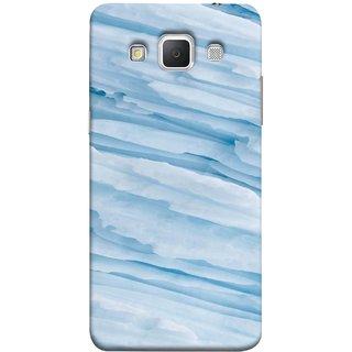 FUSON Designer Back Case Cover for Samsung Galaxy Grand 3 :: Samsung Galaxy Grand Max G720F (Deep Grooves Side Blue Iceberg Floating Antarctic)