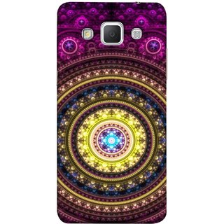 FUSON Designer Back Case Cover for Samsung Galaxy Grand 3 :: Samsung Galaxy Grand Max G720F (Best Rangoli Patterns Treditional Photo Wallpapers )