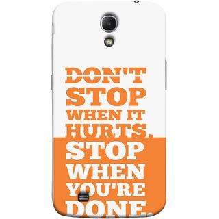 FUSON Designer Back Case Cover for Samsung Galaxy Mega 6.3 I9200 :: Samsung Galaxy Mega 6.3 Sgh-I527 (Stop When You Are Done Always See Targets )