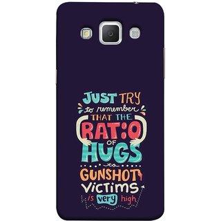 FUSON Designer Back Case Cover for Samsung Galaxy Grand 3 :: Samsung Galaxy Grand Max G720F (To Gunshots Victims Is Very High Upwords Kisses )