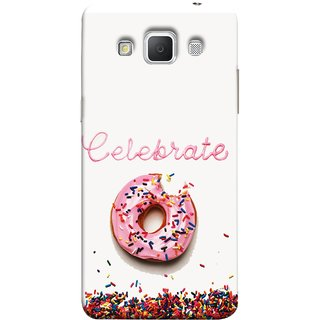 FUSON Designer Back Case Cover for Samsung Galaxy Grand 3 :: Samsung Galaxy Grand Max G720F (Pink Donut Eating Lots Of Jellybeans Childrens Fevourite)