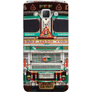 FUSON Designer Back Case Cover for Samsung Galaxy Grand 3 :: Samsung Galaxy Grand Max G720F (India Goods Lorry Decorated Indian Tata Truck)