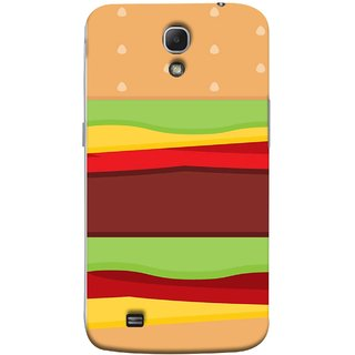 FUSON Designer Back Case Cover for Samsung Galaxy Mega 6.3 I9200 :: Samsung Galaxy Mega 6.3 Sgh-I527 (Artwork Green Red Lines Brown Circles Bubbles)