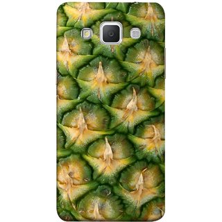 FUSON Designer Back Case Cover for Samsung Galaxy Grand 3 :: Samsung Galaxy Grand Max G720F (Pineapple Skin Interesting Textured Art Design )