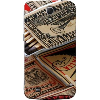 FUSON Designer Back Case Cover for Samsung Galaxy Mega 6.3 I9200 :: Samsung Galaxy Mega 6.3 Sgh-I527 (Vulcan Superior Sakerhats Tandstickor England Bells)