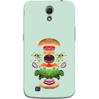 FUSON Designer Back Case Cover for Samsung Galaxy Mega 6.3 I9200 :: Samsung Galaxy Mega 6.3 Sgh-I527 (Flying Burger Ingredients Onion Cheese Tomatos )