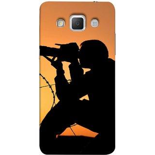 FUSON Designer Back Case Cover for Samsung Galaxy Grand 3 :: Samsung Galaxy Grand Max G720F (Life Through A Lens Sunset Silhouette Camera Lens)