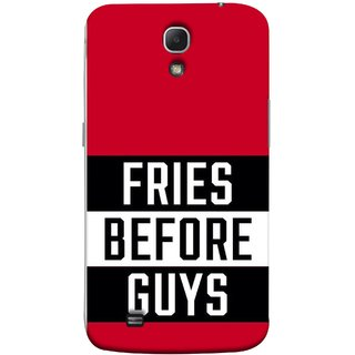 FUSON Designer Back Case Cover for Samsung Galaxy Mega 6.3 I9200 :: Samsung Galaxy Mega 6.3 Sgh-I527 (Food Before Dudes Food Lovers Mac D Lovers )