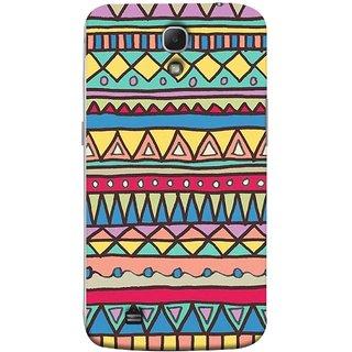 FUSON Designer Back Case Cover for Samsung Galaxy Mega 6.3 I9200 :: Samsung Galaxy Mega 6.3 Sgh-I527 (Tribal Patterns Colourful Eye Catching Verity Different )