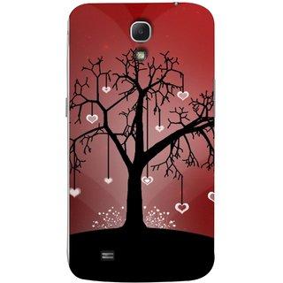 FUSON Designer Back Case Cover for Samsung Galaxy Mega 6.3 I9200 :: Samsung Galaxy Mega 6.3 Sgh-I527 (Tree Silhouette Spring Cherry Tree Lovers Shining )
