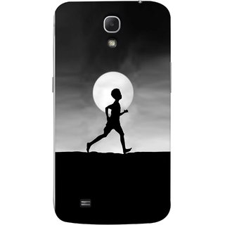 FUSON Designer Back Case Cover for Samsung Galaxy Mega 6.3 I9200 :: Samsung Galaxy Mega 6.3 Sgh-I527 (Halloween Vector Illustration Background Full Moon )