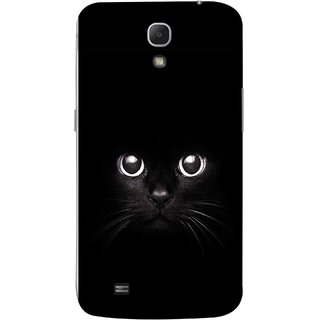 FUSON Designer Back Case Cover for Samsung Galaxy Mega 6.3 I9200 :: Samsung Galaxy Mega 6.3 Sgh-I527 (Black Kitty Kitten Closeup Of A Long Haired Black Cats )