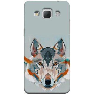 FUSON Designer Back Case Cover for Samsung Galaxy Grand Max G720 (Multicolour Dogs Perfect Look King Bird Night Tree)