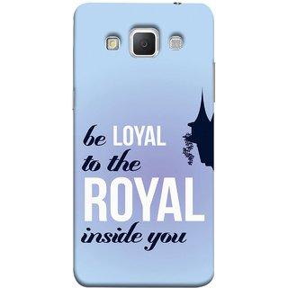 FUSON Designer Back Case Cover for Samsung Galaxy Grand Max G720 (Lamppost Hights New Horizon Loyalty Wall Art )