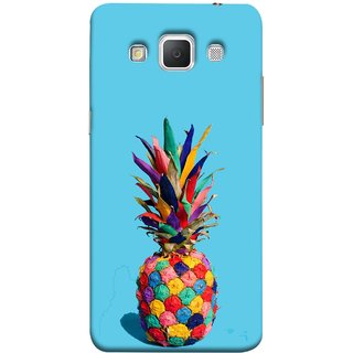 FUSON Designer Back Case Cover for Samsung Galaxy Grand Max G720 (Light Bright Cream Pineapple Lamp Ananas Pineapple Skin)