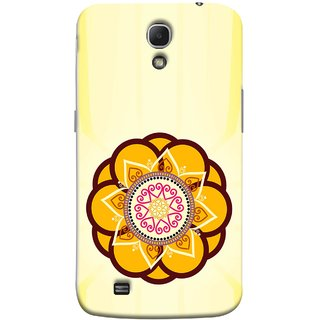 FUSON Designer Back Case Cover for Samsung Galaxy Mega 6.3 I9200 :: Samsung Galaxy Mega 6.3 Sgh-I527 (Best Rangoli Patterns Treditional Photo Wallpapers )