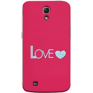 FUSON Designer Back Case Cover for Samsung Galaxy Mega 6.3 I9200 :: Samsung Galaxy Mega 6.3 Sgh-I527 (Best Gift For Valentine Friends Lovers Couples Baby Pink Red )