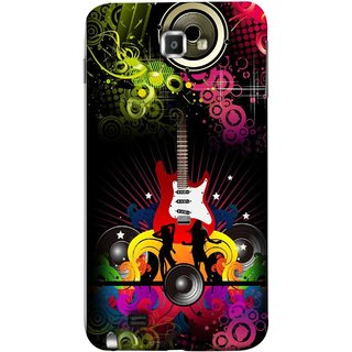 FUSON Designer Back Case Cover for Samsung Galaxy Note N7000 :: Samsung Galaxy Note I9220 :: Samsung Galaxy Note 1 :: Samsung Galaxy Note Gt-N7000 (Abstract Colorful Music Dance Background Design )