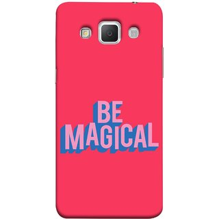 FUSON Designer Back Case Cover for Samsung Galaxy Grand Max G720 (Wand Magically Make Differnece To Others Life )